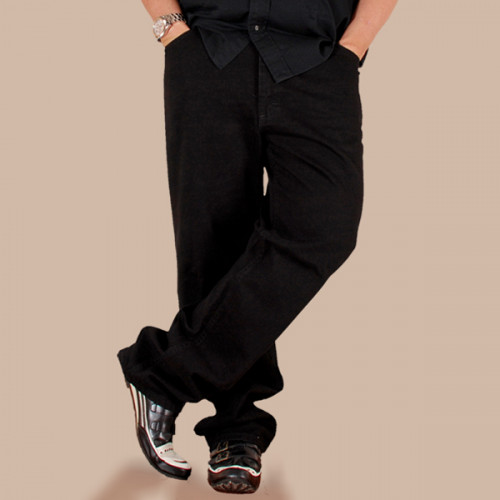 Big & Tall Regular Fit Jeans 2100208 - Double Black