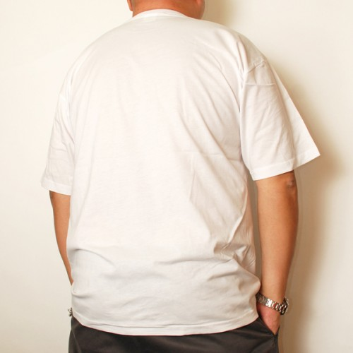Cotton Short Sleeve Undershirt - White