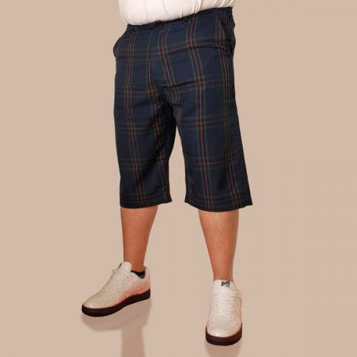 The Checker Cut Off Short - Blackwatch Plaid