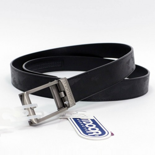 Camouflage One Touch Buckle Belt - Black