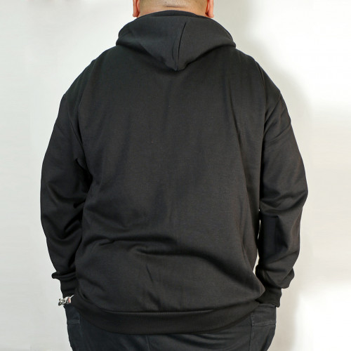 Kitaro Back Brushed Pull Parka - Black