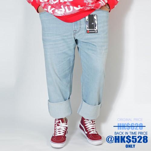 808A Ganso Hinshitsu Inde Series Denim - Icy