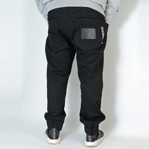 Q504 Denim Jogger - Black
