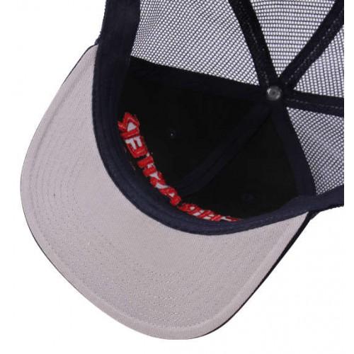 THRASHER 3D Embroidery Mesh Cap - Navy