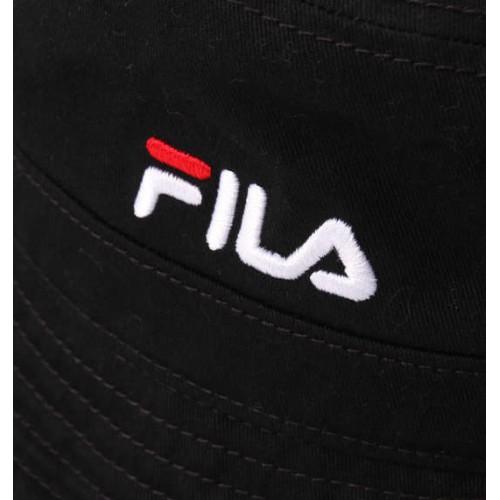 Washable Twill Bucket Hat - Black