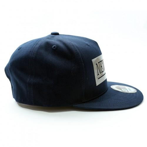 New York Snapback Cap - Navy