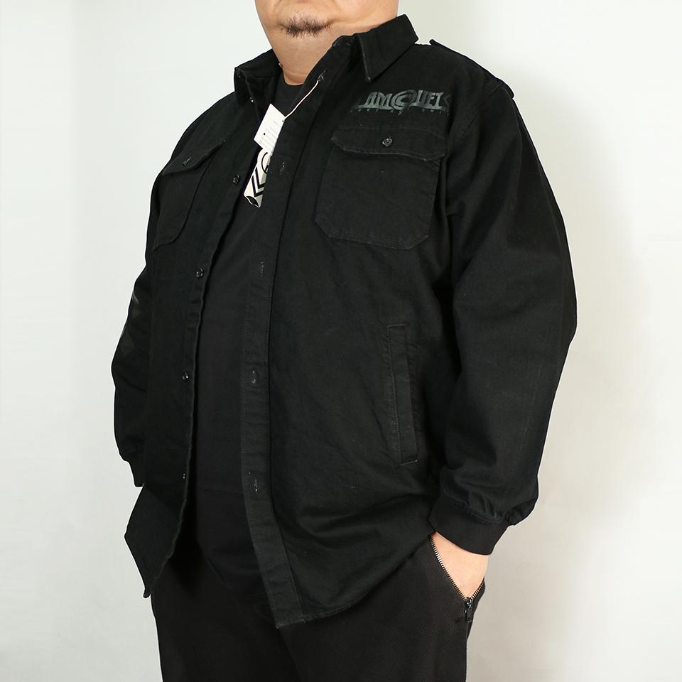 DLLM Denim Deck Jacket - Black Pearl