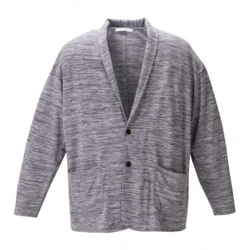 Aligned Shawl Set - Grey