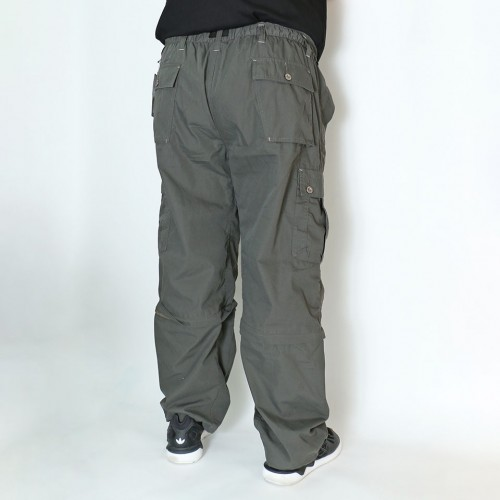 2 Way Cargo Pants - Sage Green