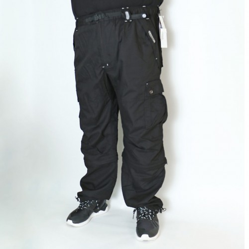 2 Way Cargo Pants - Black
