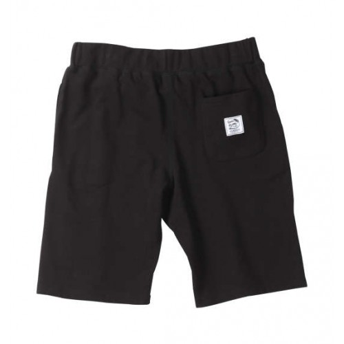 Ouackers Athletic Sweat Shorts - Black