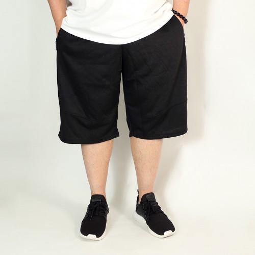 3 Pockets Simple Shorts - Black