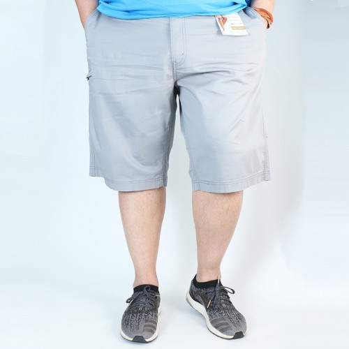 Signature Quality Utility Shorts - Light Grey