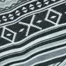 Ortega Pattern Casual Shorts - Black