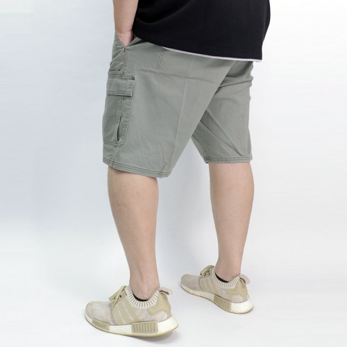 Stretch Classic Relaxed Cargo Short - Olive