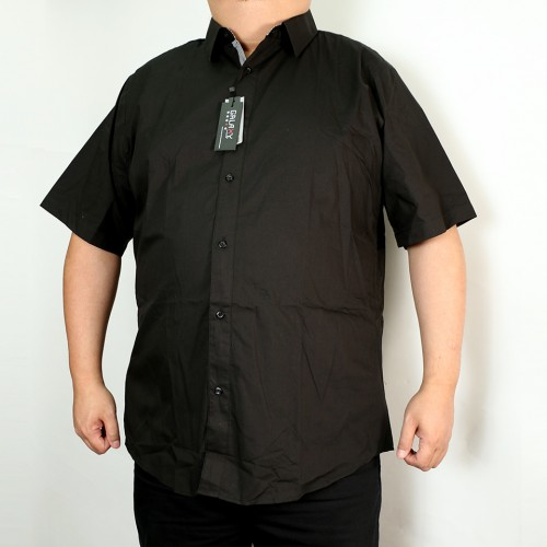 Solid Woven Shirt - Black