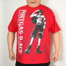 Portgas.D.Ace Fire Fist Tee - Red