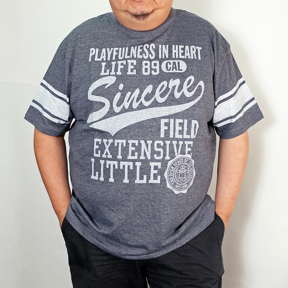 Playfulness In Heart Tee - Blue