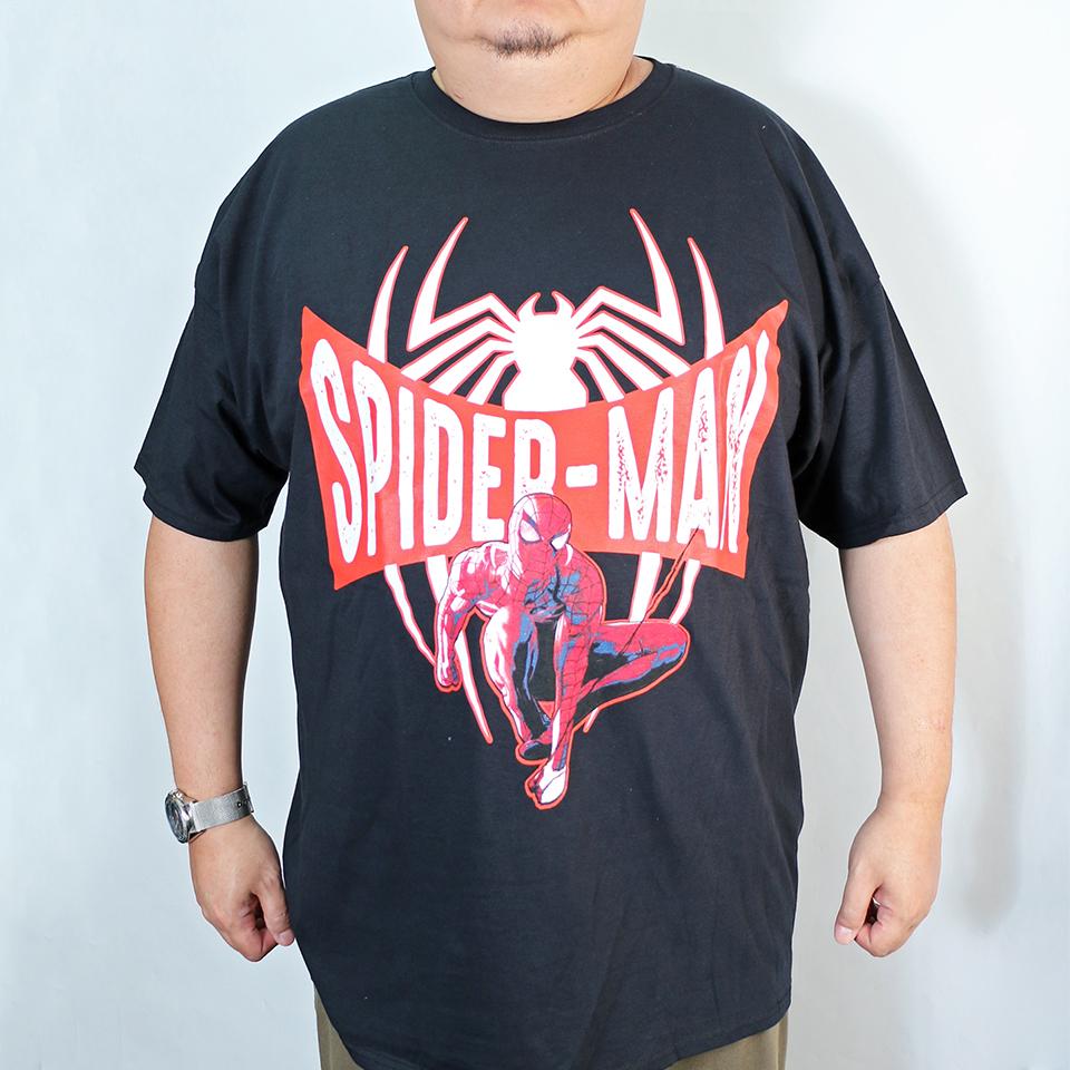 Spider Man Tee - Black