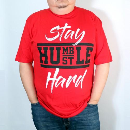 Stay Humble Hard Tee - Red