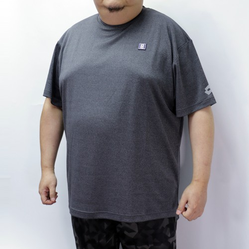 Dry Mesh Lotto Sport Tee - Charcoal