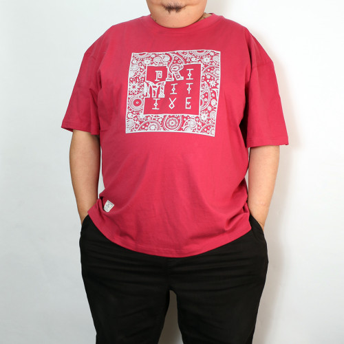 Paisley Totem Tee - Red